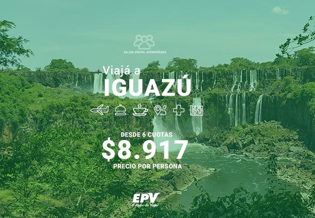 CATARATAS DEL IGUAZÚ EN AVIÓN DESDE NEUQUÉN